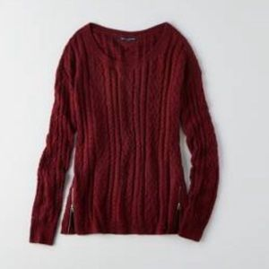 ⚡️5 for $30⚡️ American Eagle Cable Knit Sweater
